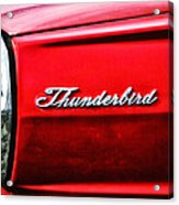 Red Thunderbird Acrylic Print