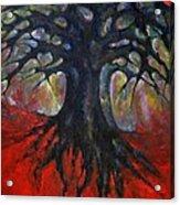 Red Tree Acrylic Print