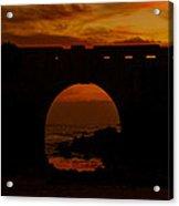 Red Twilight II Acrylic Print