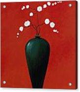 Red Vase 1 Acrylic Print