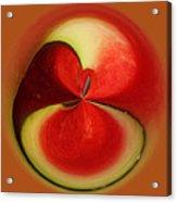Red Watermelon Acrylic Print