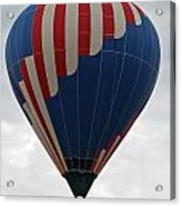 Red White And Balloon 2 Acrylic Print