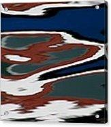 Red White And Blue Vi Acrylic Print by Heidi Piccerelli