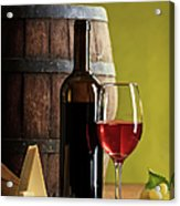 Red Wine Composition Acrylic Print