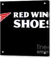 Red Wing Shoes 2 Acrylic Print