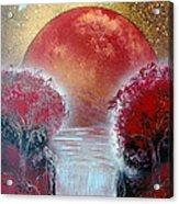 Redder Acrylic Print