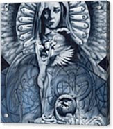 Redemption Acrylic Print by Luis  Navarro