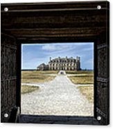 Redoubt Gates Acrylic Print by Peter Chilelli