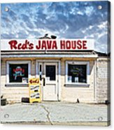 Red's Java House Acrylic Print by Tim Fleming