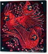 Reds Acrylic Print