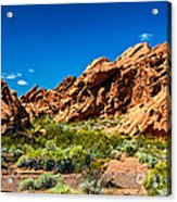 Redstone Picnic Area Acrylic Print
