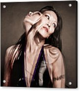 Ree Ja Soul Acrylic Print by Gary Heller
