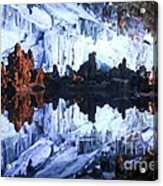 Reed Flute Cave Guillin China Acrylic Print