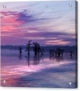 Reelfoot Lake Sunrise Acrylic Print