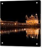 Reflected Golden Temple Acrylic Print