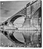 Reflecting Fernbridge Acrylic Print