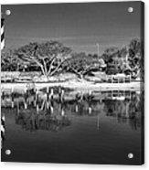Reflecting Lighthouse  Acrylic Print