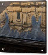 Reflecting On Noto And The Beautiful Sicilian Baroque Style Acrylic Print