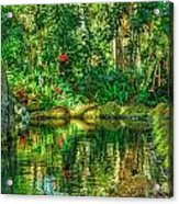 Reflecting On The Day Acrylic Print