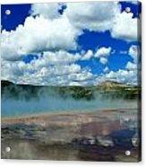 Reflecting Springs Acrylic Print