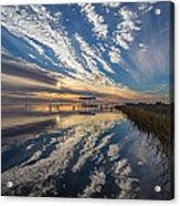 Reflecting Sunset Acrylic Print