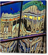 Reflection 12 Acrylic Print by Jim Wright