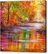 Reflection Acrylic Print by Ann Marie Bone