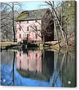 Reflection At The Mill Acrylic Print