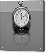 Reflection Clock Acrylic Print