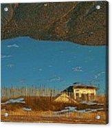 Reflection Flipped 14 10/31 Acrylic Print