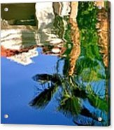 Reflection Gabezo And Trees 29478 Acrylic Print