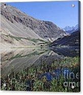 Reflection In Borith Lake Acrylic Print