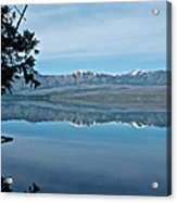 Reflection In Lake Mcdonald In Glacier National Park-montana Acrylic Print
