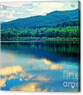 Reflection In The Water Acrylic Print