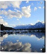 Reflection Lake Acrylic Print by Mike Podhorzer
