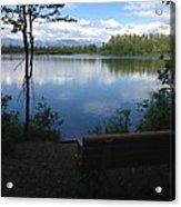 Reflection Lake Trail Acrylic Print