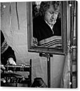 Reflection Of A Man Acrylic Print