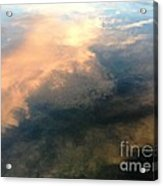 Reflection Of Clouds Acrylic Print
