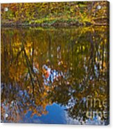 Reflection Of Fall Acrylic Print