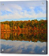 Reflection Of The Fall Acrylic Print