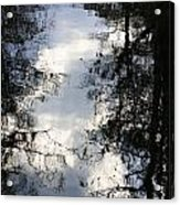 Reflection On Sweet Water Strand Acrylic Print