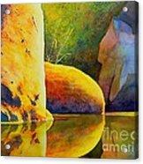 Reflection Acrylic Print by Robert Hooper