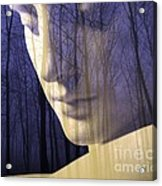 Reflection / The Philosophy Of Mind Acrylic Print