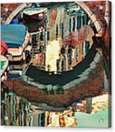 Reflection-venice Italy Acrylic Print