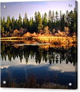 Reflections At Grace Lake Acrylic Print