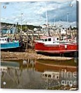 Reflections At Low Tide Acrylic Print
