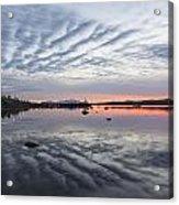 Reflections At Puerto Natales Acrylic Print