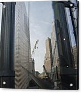Reflections At The 9/11 Museum Acrylic Print