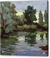 Reflections Duwamish River Acrylic Print