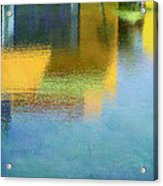 Reflections In Abstract Acrylic Print
